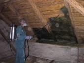 Chemický nástřik a impregnace střechy
